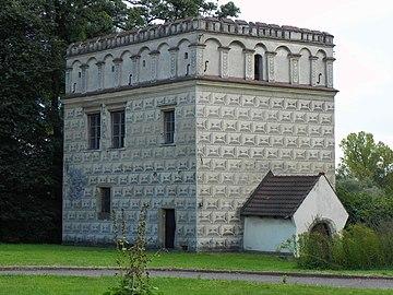 Lamus - pałac obronny Branice k. Krakowa 2019 kkuba.jpg
