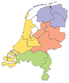 List of regions of the Netherlands Wikipedia