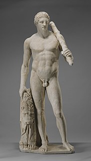 Roman sculpture of Heracles