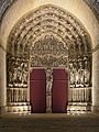 Laon Cathedral Main Portal (Night) 01.JPG