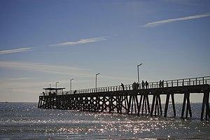 Largs Bay, South Australia - The Largs Bay jetty