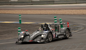 2011 24 Hours of Le Mans - The No. 26 Signatech Oreca 03 Nissan took pole position in LMP2