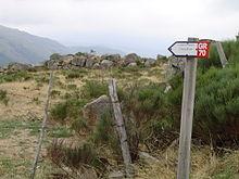 Segnaletica lungo lo Chemin de Stevenson.