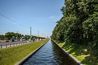 Swan Canal Canal in Saint Petersburg