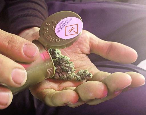 Legal cannabis (marijuana) product in Denver, Colorado