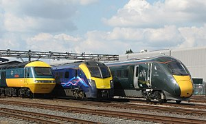 Legends of the Great Western - GWR 43002, 180102 and 800003.JPG
