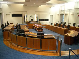 Australian Capital Territory Legislative Assembly - Chamber of the ACT Legislative Assembly