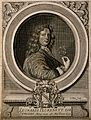 Leonard Plukenet. Line engraving by J. Collins, 1690. Wellcome V0004724.jpg