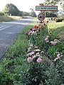 Les Monthairons (Meuse) city limit sign.JPG