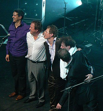 Who's That Girl World Tour - British funk band Level 42 joined Madonna as the supporting opening act for the tour.