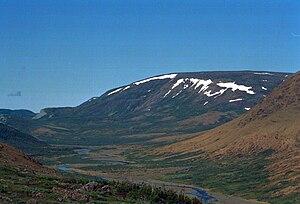 The Cabox - Image: Lewis Hills, Long Range Mountains, Newfoundland, Canada 200707