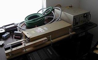 Ion laser Type of gas laser