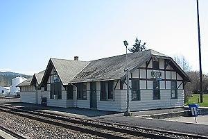 Lincoln County, Montana - Image: Libby Train Station
