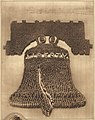 Liberty Bell composed of 25000 men at Camp Dix 1918.jpg
