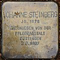 Liebenburg Stolperstein Steinberg, Johanne.jpg