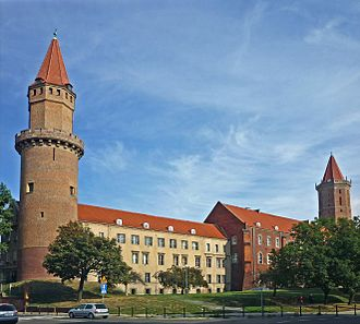 Duchy of Legnica - Legnica Castle