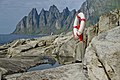 Life-buoy in Tungeneset, Senja, Troms, Norway, 2014 August.jpg