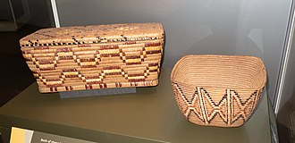 Lil'wat First Nation - Lil'wat baskets at the UBC Museum of Anthropology