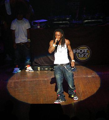Lil Wayne at the Beacon Theatre.