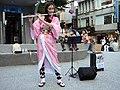 Lily Cao as Nezuko Kamado playing Gurenge 20201101a.jpg