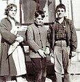 Lily Rusek, Lars Ridderstedt II & John Rusek 1961.jpg