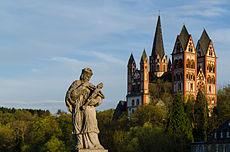 Limburg an der Lahn, Alte Lahnbrücke. Hl, Nepomuk, Dom-008.jpg