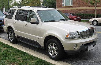 Lincoln Aviator - Image: Lincoln Aviator