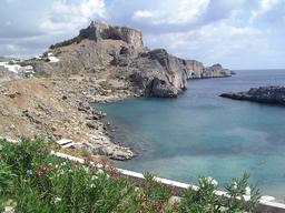 Akropolis i byen Lindos