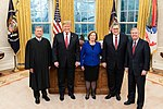 Lindsey Graham Joins President Donald Trump for Swearing-In of Recently Confirmed Attorney General William Barr.jpg