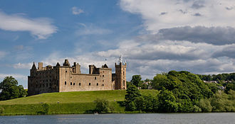 Both Mary and her father were born at Linlithgow Palace. Linlithgow Palace NW 03.jpg