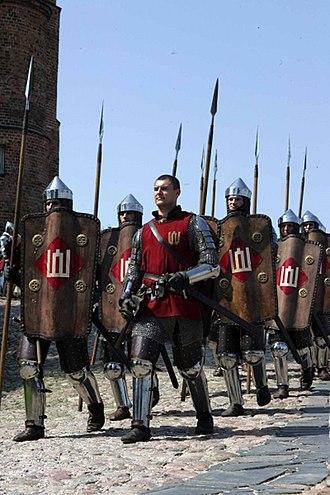 Leičiai - Lithuanian soldiers (14-15c reconstruction)