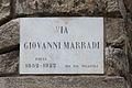 Livorno Via Giovanni Marradi street name 01.JPG