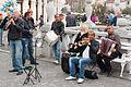 Ljubljana-Old-Town-Street-Performers (15474957982).jpg