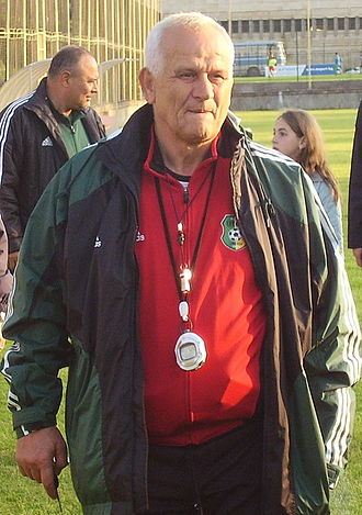 Ljupko Petrović - Ljupko Petrović during his time at Litex Lovech