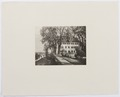 Ljustryck över slott och egendomar. Schloss Brestenberg - Hallwylska museet - 105110.tif
