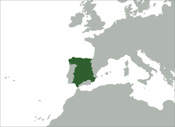 Location of Kingdom of Castile