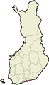Location of Porvoo in Finland.png
