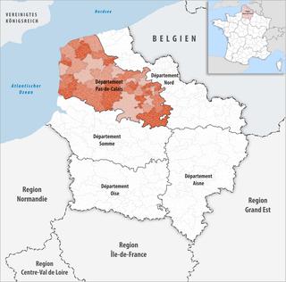 Lage des Pas-de-Calais
