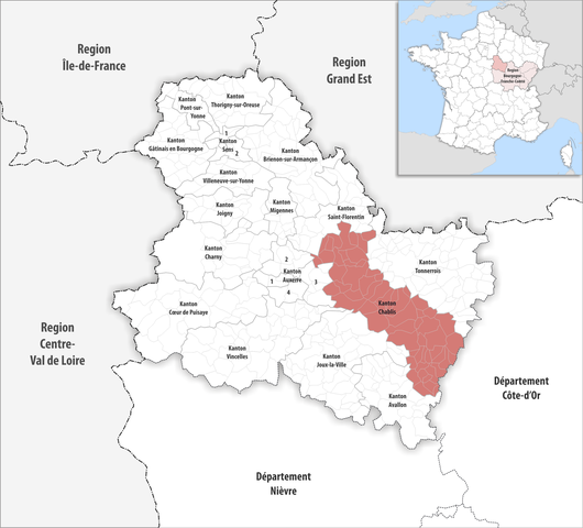 Chablis France Map.File Locator Map Of Kanton Chablis Png Wikimedia Commons