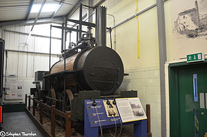 Killingworth locomotives - Billy at Stephenson Railway Museum