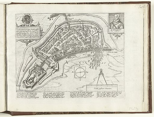 Lodewijk van Nassau verovert Wachtendonk, 1600 Serie 10 Nederlandse en Buitenlandse Gebeurtenissen, 1587-1612 (serietitel), RP-P-OB-78.784-307