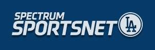 Logo for Spectrum SportsNet LA