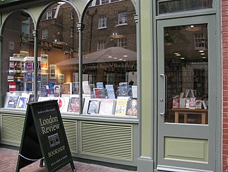 Mary Beard (classicist) - The London Review of Books bookshop, opposite the British Museum