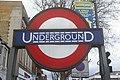 London Underground roundel, Turnpike Lane Station - geograph.org.uk - 1775900.jpg
