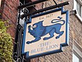 London pub on Grey's Inn Road, The Blue Lion.jpg