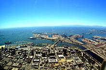 Long Beach California Looking Southwards 2010