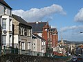 Looking down Stow Hill - geograph.org.uk - 715087.jpg