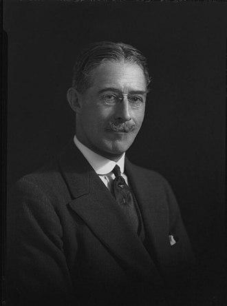 Lawrence Dundas, 2nd Marquess of Zetland - Image: Lord Zetland