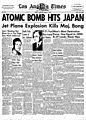 Los Angeles Times front page 6 August 1945.jpg