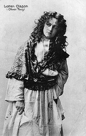 Nancy (Oliver Twist) - Ellie Wilkinson in the role of Nancy in 1910